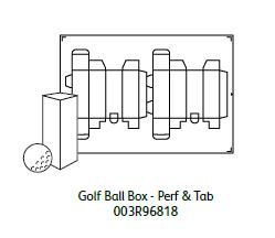 Xerox DigiBoard Golf Ball Box