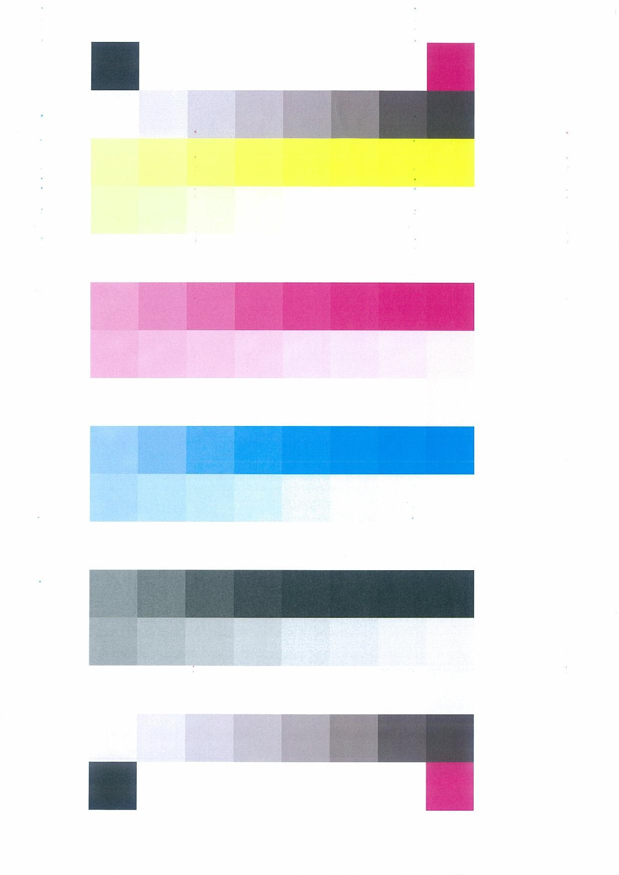 Internal print pattern