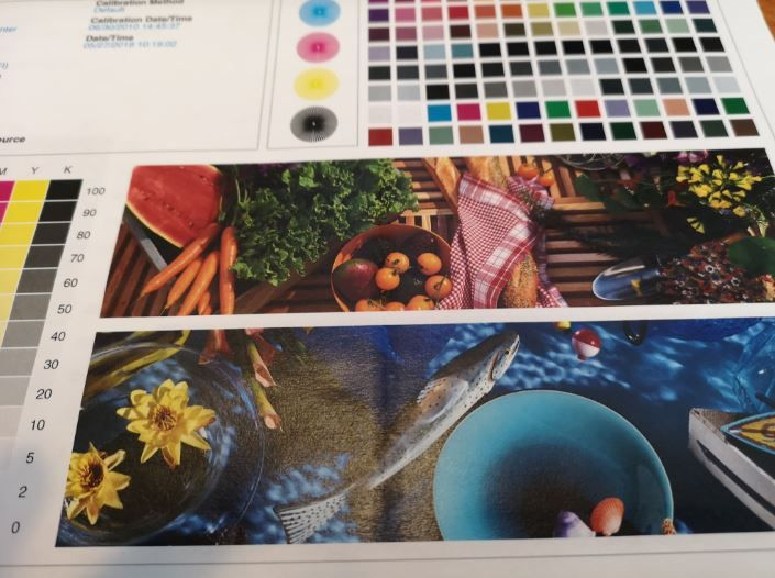 Xerox Color C60 70 Printing Horizontal White Line Customer