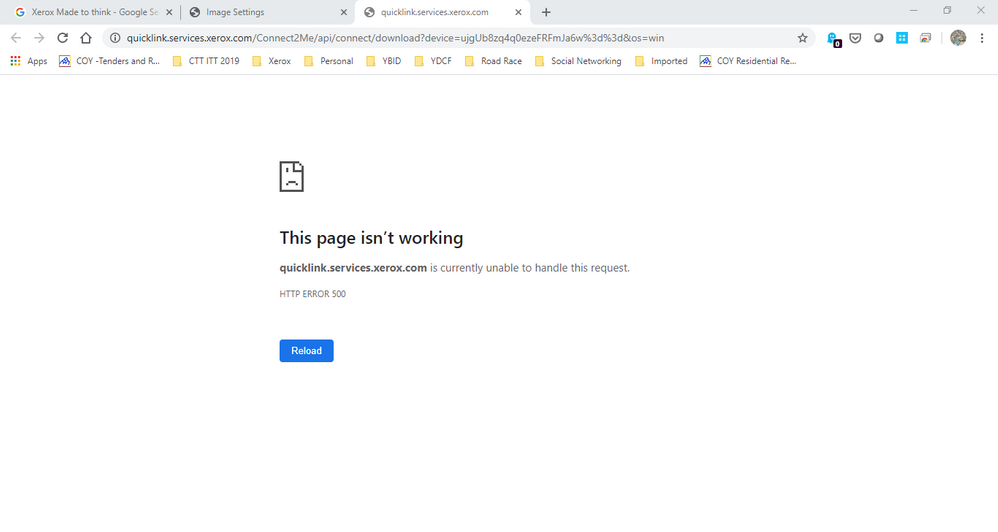 Quick Link Browser Error 03 05 2020.png