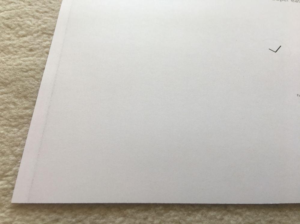 SRA3 paper left side