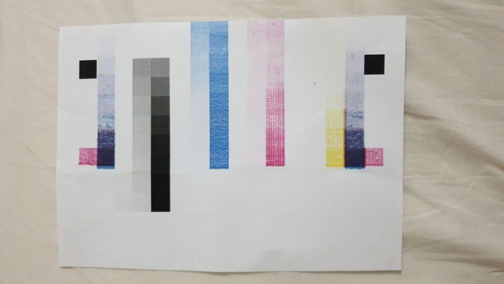 Color calibration test