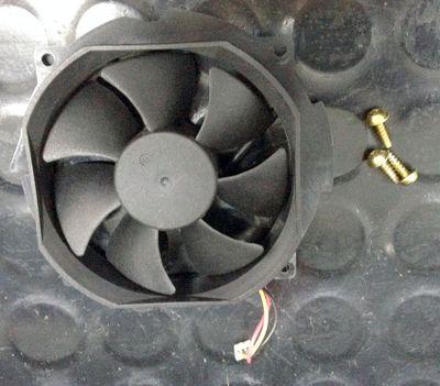 Removed Fan