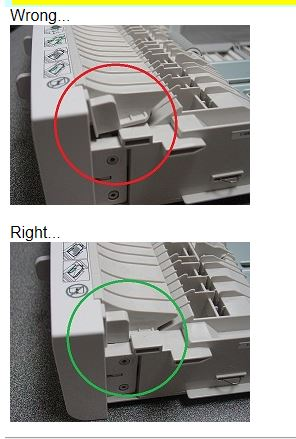 Tray one front handle incorrect.JPG