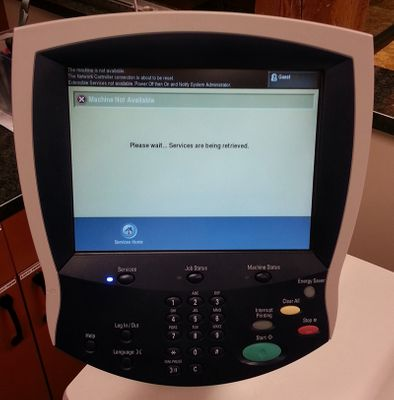 Machine Not Available