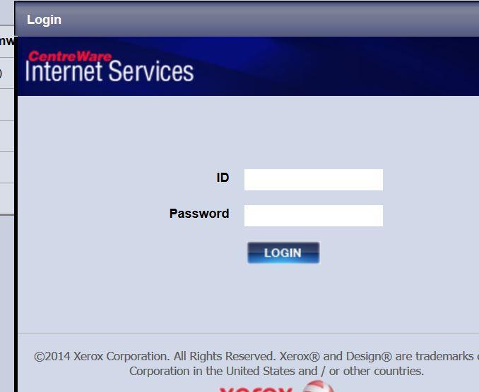 Admin Password WorkCentre 3025 - Customer Support Forum
