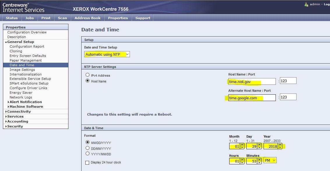 Workcentre 3615 smtp