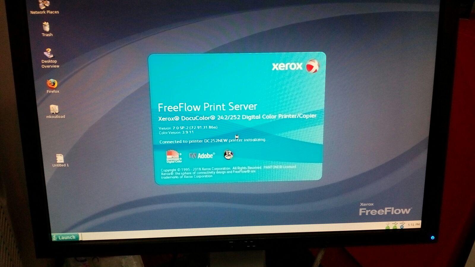 FreeFlow Print Server Problems