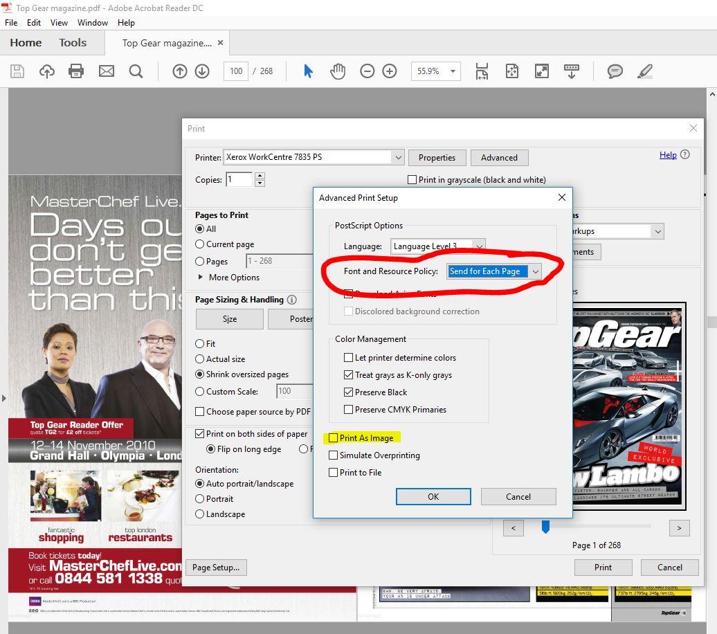 Solved: WorkCentre 7435 - Error codes 116-324 & 016-720 - Customer
