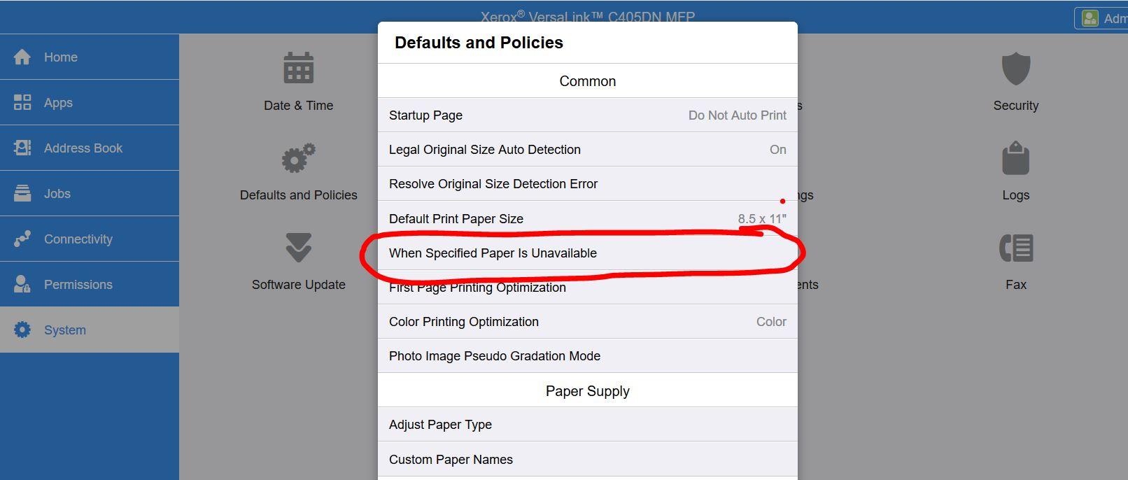 VersaLink B405 not registering with Google Cloud P    - Customer