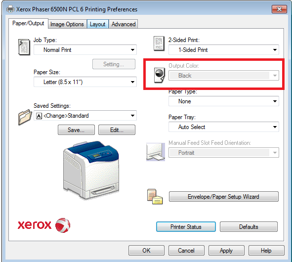 Phaser Forum Let Xerox - Support From Colour Me 6500 Customer In T Print My