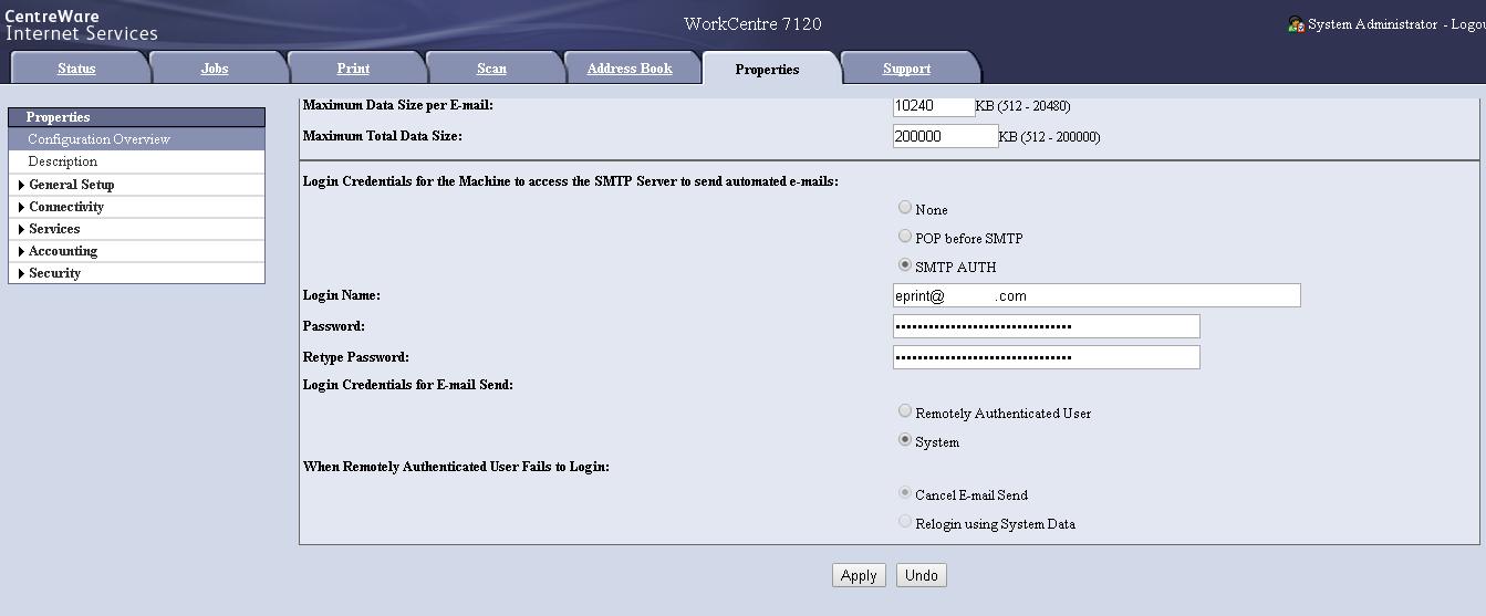 SMTP Setting 02