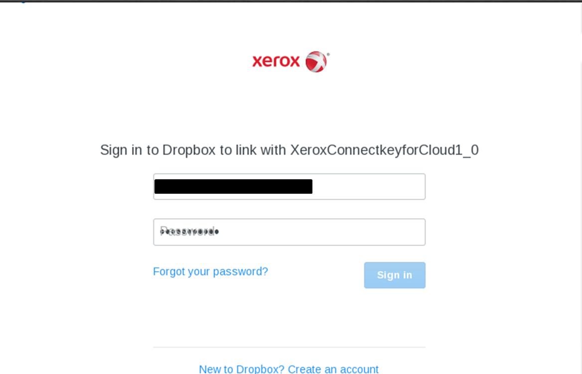 drop box login