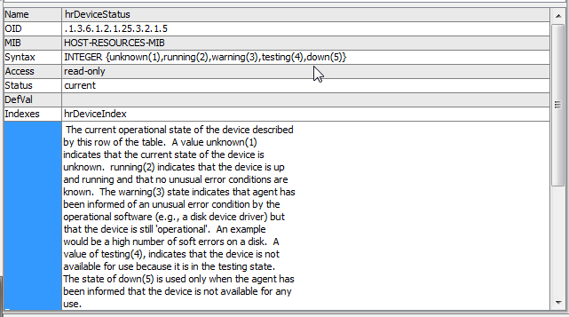 SNMP OIDs for interpreting printer status - Customer Support